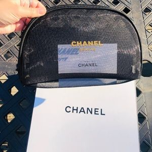 Chanel Beaute Cosmetic Bag NEW